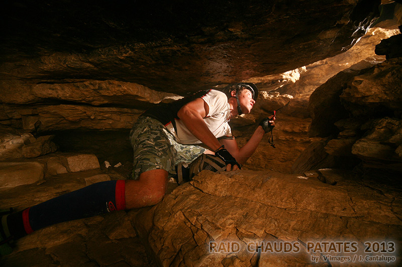 grotte raid chauds patates 2013